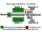 the logic element 6t relay