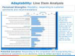 adaptability line item analysis