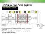 wiring for heat pump systems