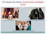 pre islamic revolution gender roles and rights in iran