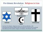 pre islamic revolution religions in iran
