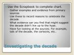investigating the decade