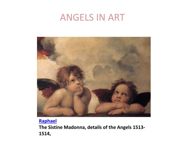 raphael the sistine madonna details of the angels 1513 1514 n.
