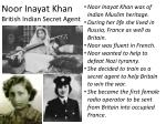 noor inayat khan british indian secret agent