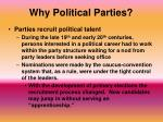 why political parties2