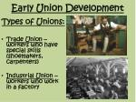early union development2