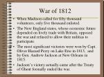 war of 18121