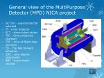 general view of the multipurpose detector mpd nica project