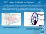 tpc laser calibration system