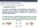 desarrollo experimental n 1 campos el ctricos y magn ticos1