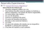 desarrollo experimental n 1 campos el ctricos y magn ticos2