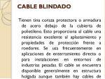 cable blindado