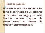 teor a corpuscular