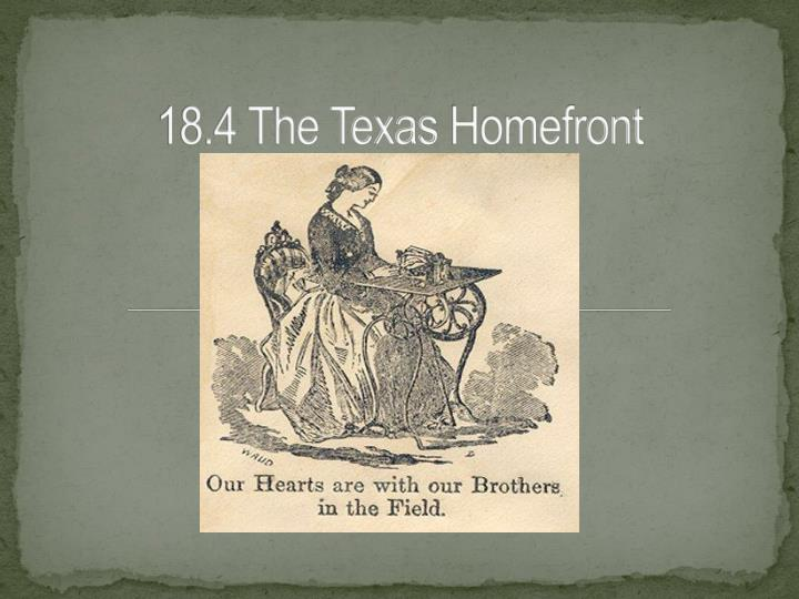 18 4 the texas homefront n.