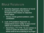 moral relativism1