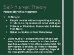 self interest theory7