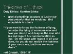 theories of ethics11