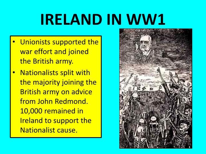 IRELAND IN WW1