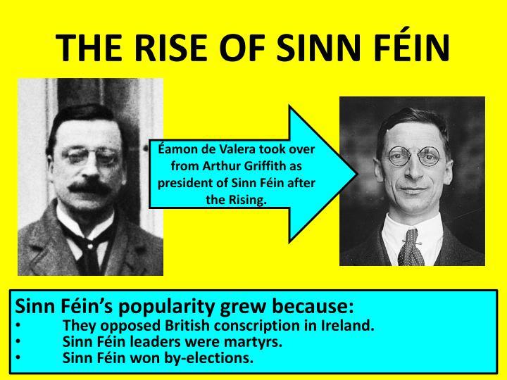 THE RISE OF SINN FÉIN