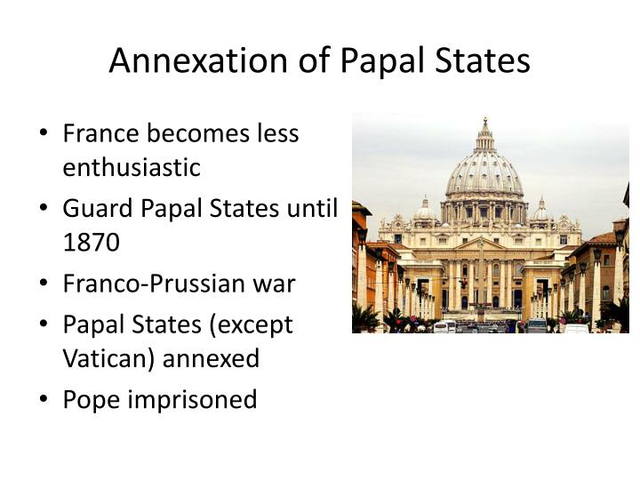 Annexation of Papal States