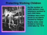 protecting working children