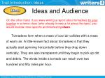 ideas and audience1