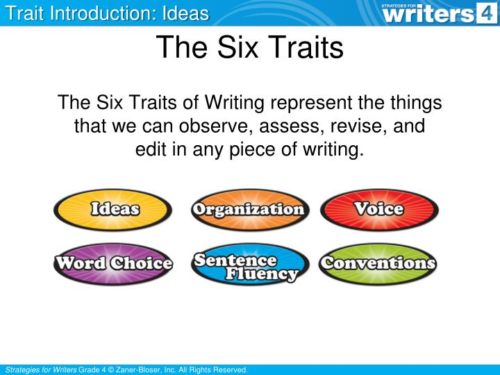 the six traits n.