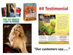 4 testimonial
