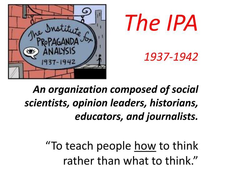 The IPA