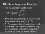 irt item response function4