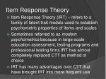 item response theory1