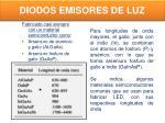 diodos emisores de luz