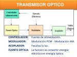 transmisor optico