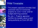 trim timetable1