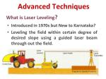 what is laser leveling
