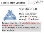 local random variables