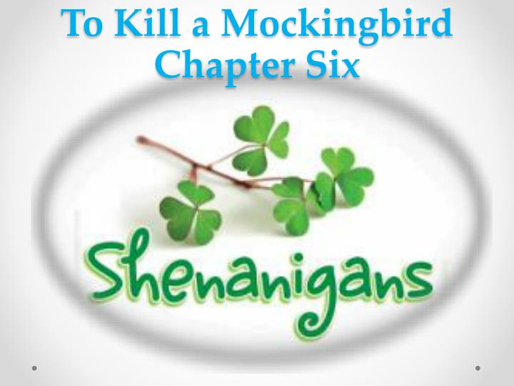 to kill a mockingbird chapter six n.