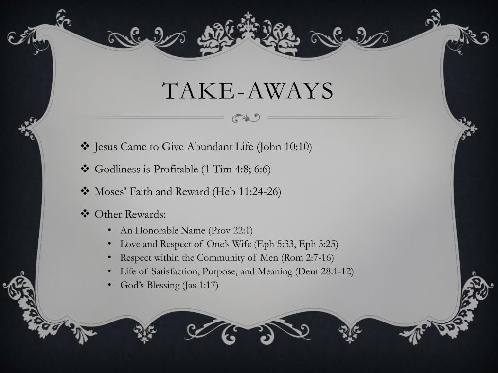 PPT - Biblical MANLINESS PowerPoint Presentation - ID:2201721