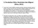 3 perubahan iklim kesehatan dan migrasi zhou 2011