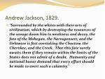 andrew jackson 1829