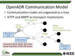openadr communication model