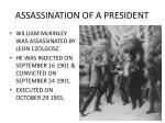 assassination of a president1