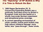the hijacking of hp bullets why it is time to relook the ban