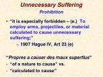 unnecessary suffering2