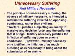 unnecessary suffering4