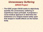 unnecessary suffering6