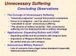 unnecessary suffering8