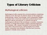 types of literary criticism4