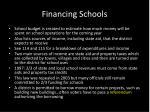 financing schools