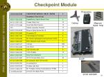 checkpoint module